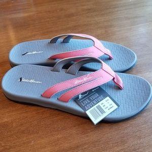 8e5af92d9eb0 Eddie Bauer Shoes - Eddie Bauer Break Point Flip Flops in watermelon